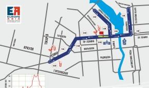 Из-за марафона в Екатеринбурге 1 августа перекроют ряд улиц