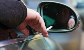 Курение в салоне автомобиля