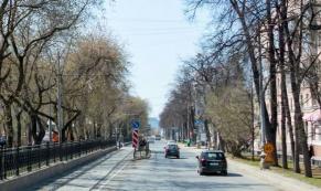 С 8 октября в Екатеринбурге перекроют нечетную сторону проспекта Ленина