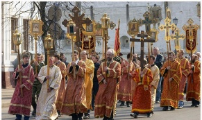 Из-за крестного хода Екатеринбурге перекроют ряд улиц