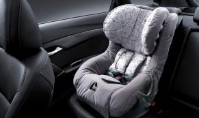Установка детского кресла в машине