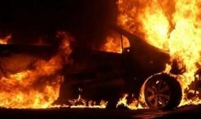 """4 мая в Нижнем Тагиле сгорел автомобиль """"BMW X6"""""""