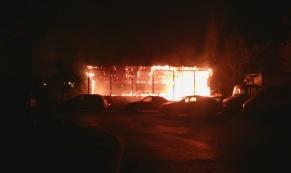 За ночь в Екатеринбурге сгорели 4 иномарки