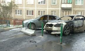 В Екатеринбурге подожгли автомобиль председателя ТСЖ