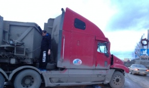 Опасное место: около въезда в Верхнюю Пышму случилось серьезное ДТП