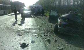 В ДТП на Полевском тракте погибли два человека