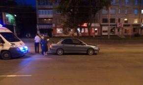 На ул. Малышева 20-летний водитель на иномарке сбил пешехода