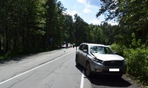 На Чусовском тракте внедорожник сбил 80-летнего пешехода