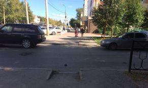 Мотоциклист с полуторамесячным стажем сбил 8-летнюю девочку