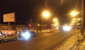 На улице С.Дерябиной иномарка сбила пешехода