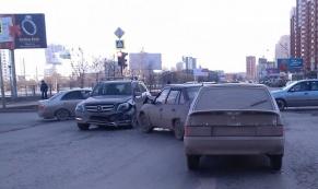 В ДТП с тремя автомобилями пострадал ребенок