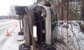 В Свердловской области опрокинулся рейсовый  автобус: пострадало пятеро