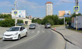В ДТП на Готвальда пострадала девушка-пешеход