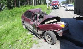 В ДТП с тягачем на ЕКАДе погиб один человек