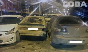 Водитель на Hyundai устроил массовое ДТП и погиб