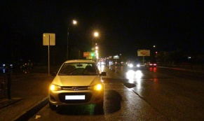 57-летний пешеход попал под колеса четырех автомобилей