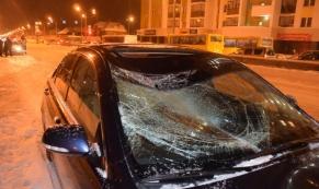 На улице Краснолесье иномарка сбила 42-летнего пешехода