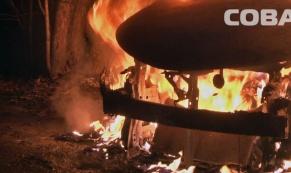 За ночь в Екатеринбурге сгорело 8 автомобилей
