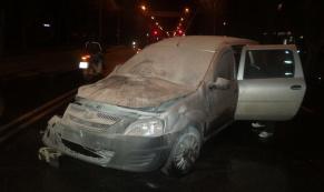 На Щорса в ДТП между микроавтобусом и легковушкой пострадал один человек