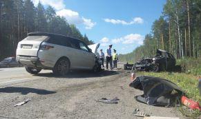 На ЕКАДе в лобовом столкновении погибла женщина-майор полиции из Нижних Серег