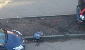 Пьяный полицейский протаранил 8 автомобилей на Сортировке