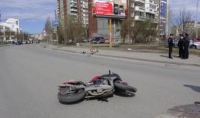 Мотоциклист сбил 9-летнего ребенка на велосипеде