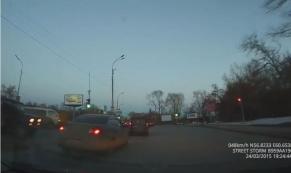 Авария на Сибирском тракте в Екатеринбурге