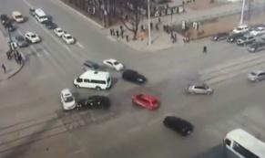 ДТП с участием автомобиля заместителя главы Екатеринбурга